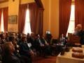 O κ. Γιάννης Κολλιάρος ευχαριστεί το Ίδρυμα για το Βραβείο Κοινωνικής Αριστείας.