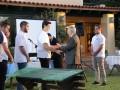Ο Πρόεδρος Δ.Σ. του Ιδρύματος, κ. Ευθύμιος Ηλ. Μητρόπουλος απονέμει  βραβεία σε μαθητές. Boarders are being awarded by the Chairman of the Foundation's Board,  Mr. Efthymios E. Mitropoulos.