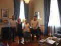 Οι Α.Ε. Πρέσβειρες με τον κ. Μ. Μπελέγρη και κ. Τ. Κουκάκη